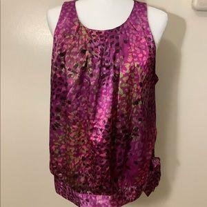 Apt. 9 Multi Color sleeveless blouse